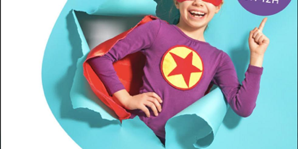 Atelier super héros (8-12 ans)