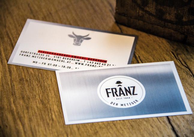 FRANZ, der Metzger CI