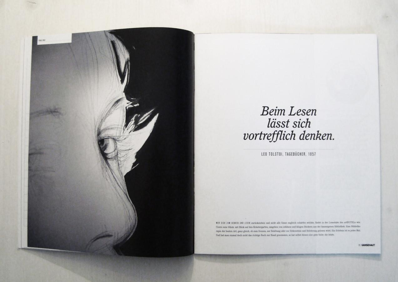 arthotel Blaue Gans Gänsehaut Magazin