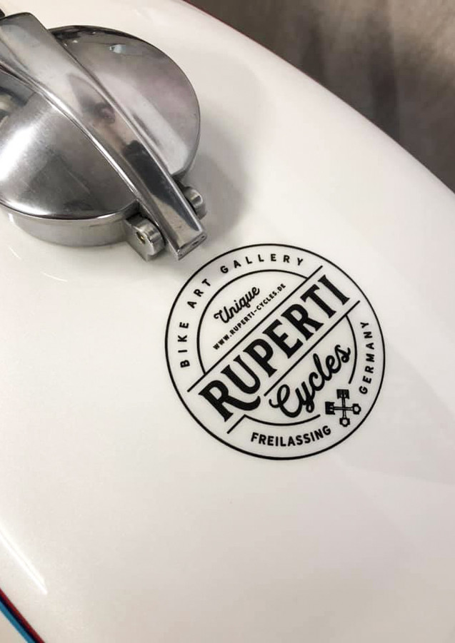 Ruperti Cycles Logo Design
