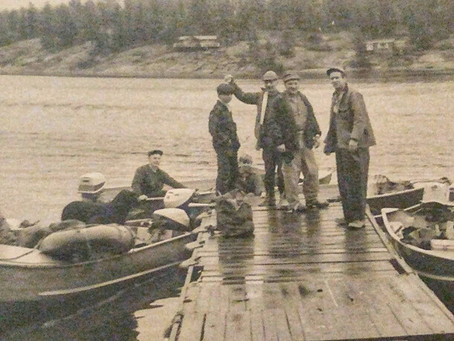 Short on maps, strong on will: The early years cottaging on Twelve Mile Bay