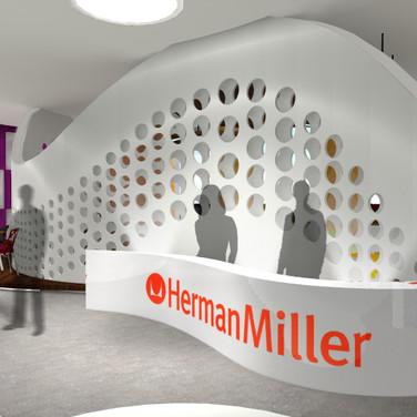 NeoCon Herman Miller showroom