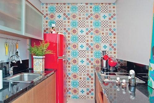 Adesivo Para Cozinha - Azulejo