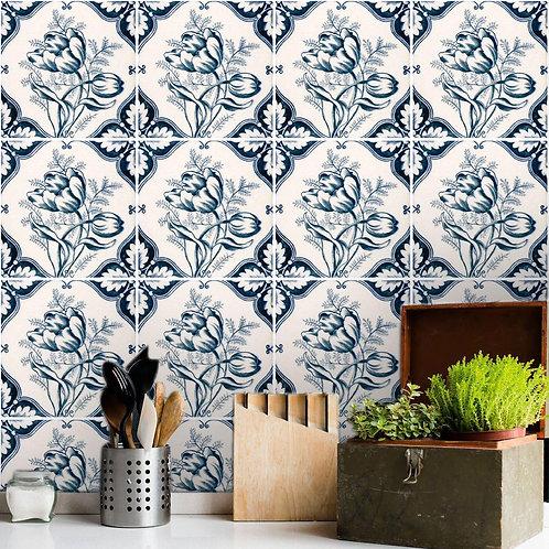 Adesivo Papel de Parede para Cozinha - Azulejo #4