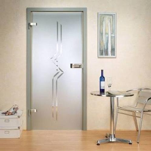 Adesivo Jateado para vidros, portas e janelas #3