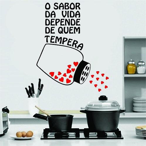 Adesivo Para Cozinha - Frase #3