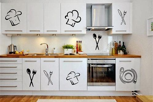 Adesivo Para Cozinha - Figura MasterChef