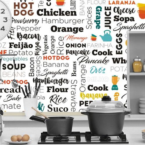 Adesivo Para Cozinha - Frase