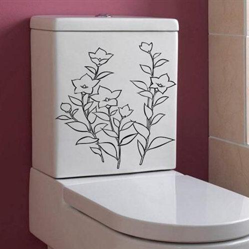 Adesivo para Vaso - Floral #5