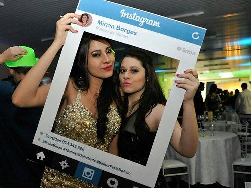 Placa Instagram para Festa - Personalizado