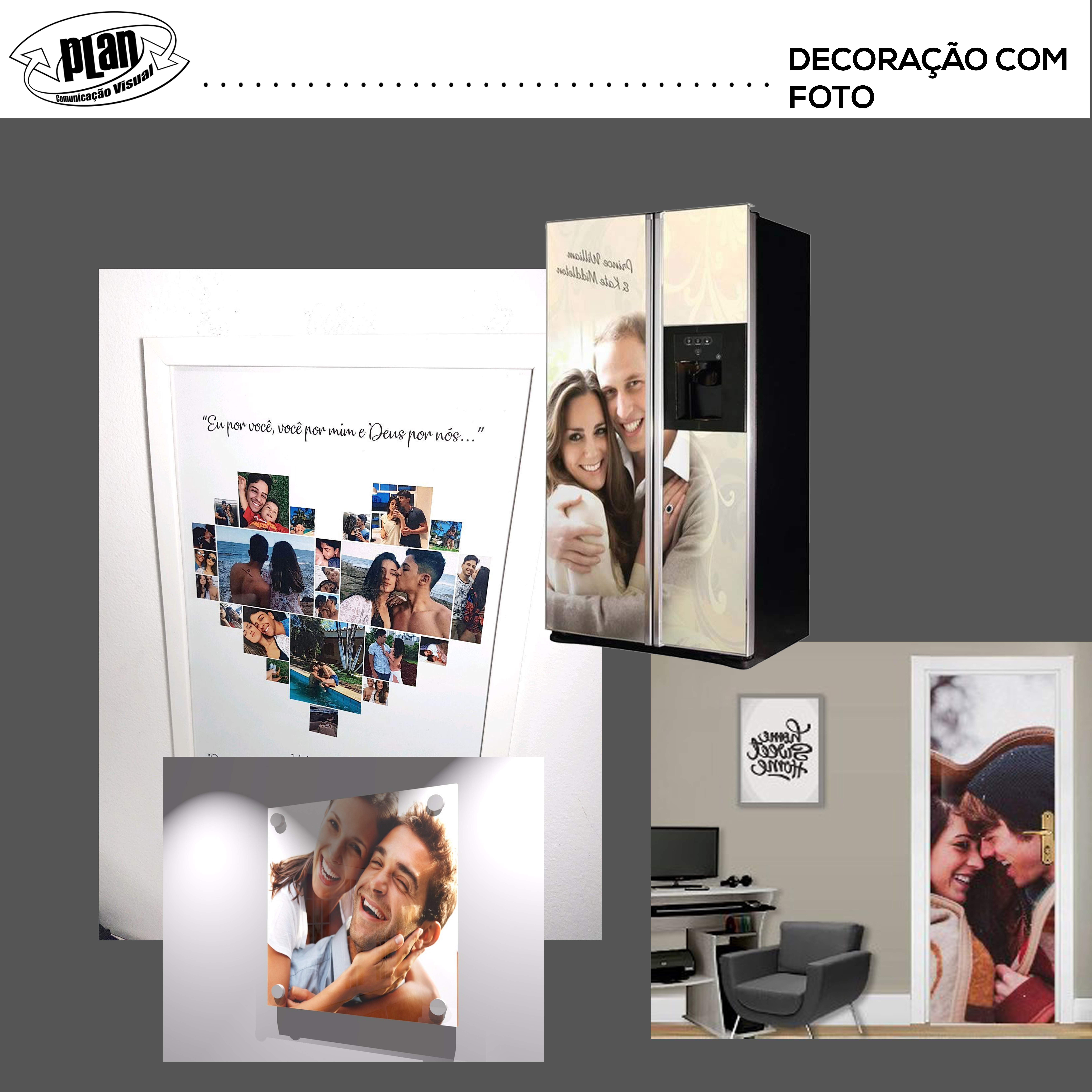 DECORACAO COM FOTO