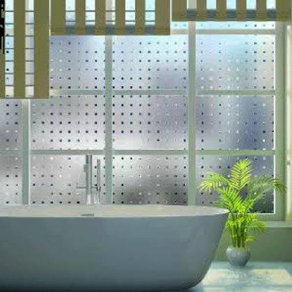 Adesivo Jateado para vidros, portas e janelas #6