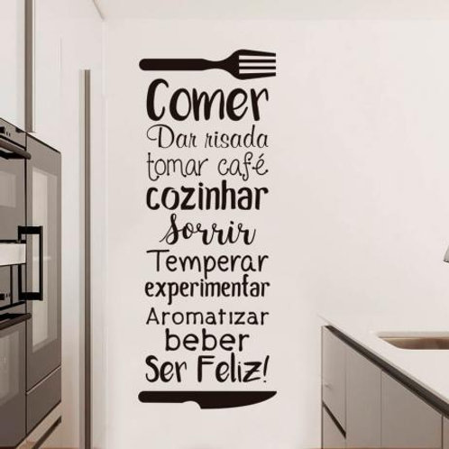 Adesivo Para Cozinha - Frase #2