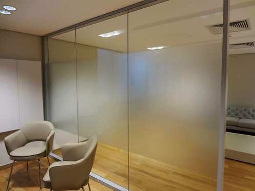 Adesivo Jateado para vidros, portas e janelas #2