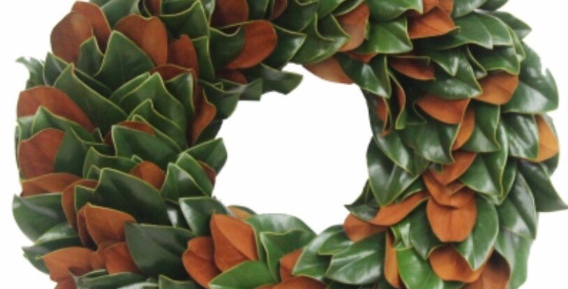 Fresh Magnolia Wreath