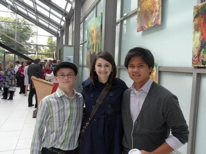 Matt, Rose and Joe Lamb