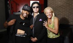K.W.O.E., Gene Simmons & Sheila Lamb