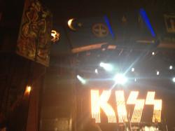 Matt Lamb Art with KISS Stage