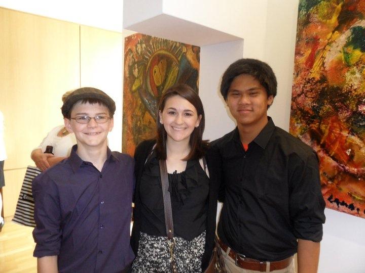 Matt, Rose & Joe Lamb