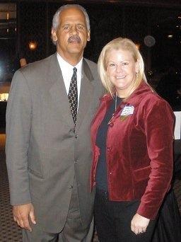 Stedman Graham and Sheila Lamb