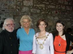 Matt, Sheila & Rose Lamb with Mayor