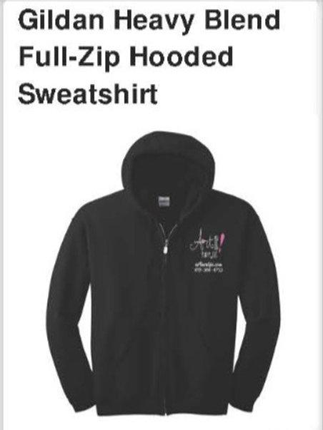 Gildan Heavy Blend Full-Zip Hooded Sweatshirt