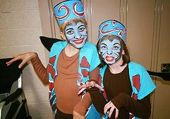 monkey-art-face-paint-oz-wizard-theater-makeup