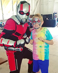 superhero-antman-face-paint-party