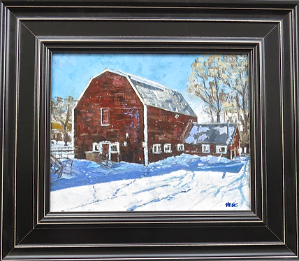 Victory Ranches Barn 12x9