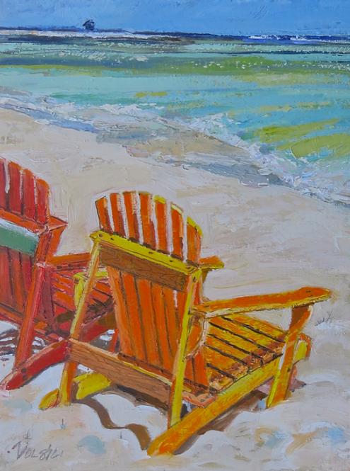 Beach Chair 8x10