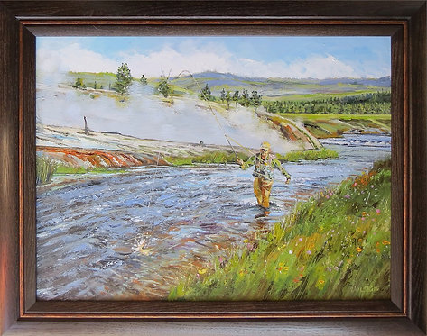 On The Firehole 24x18