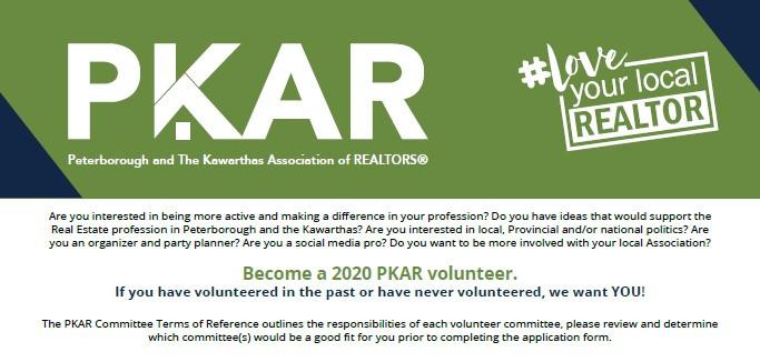 PKAR 2020 Membership Committee Volunteers - Sign Up