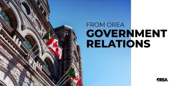 OREA Letter to Minister Thompson