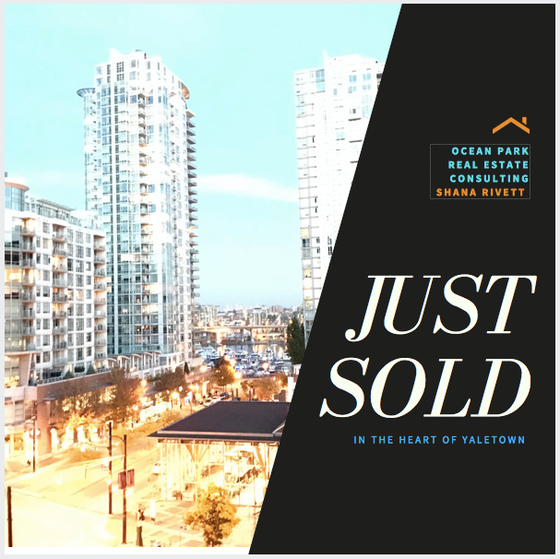 Sold in the Heart of Yaletown, Vancouver