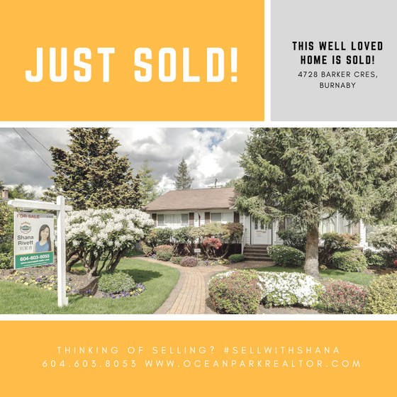 This Well Loved Home is SOLD