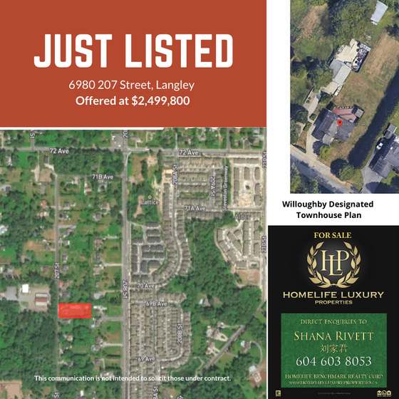 Just Listed 6980 207 Street, Langley