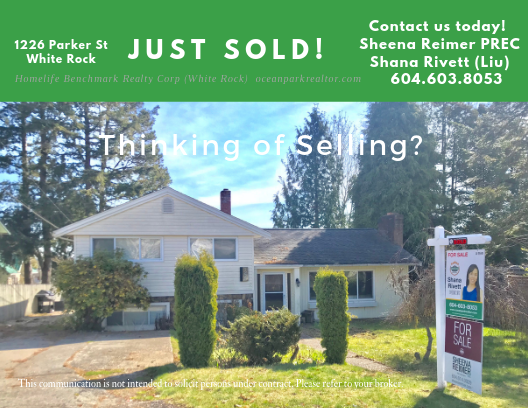 SOLD IN ONE WEEK!