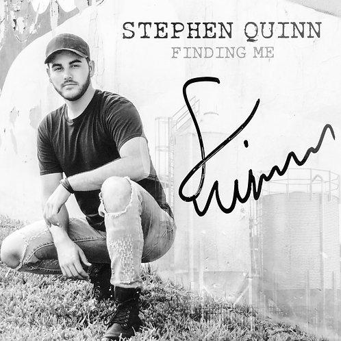 """Stephen Quinn Album, """"Finding Me"""""""