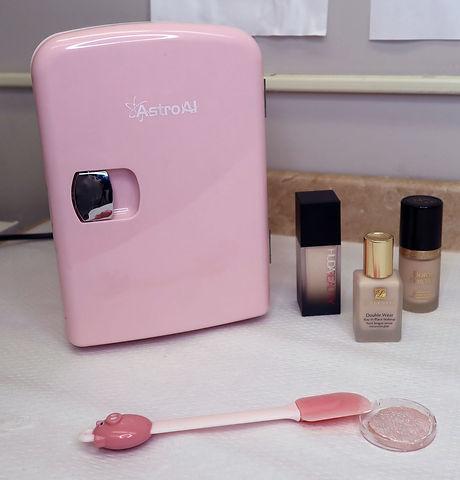 pink fridge and makeup.jpg