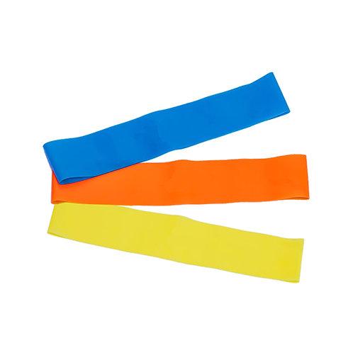Kit Mini Bands - com 3 faixas (níveis)