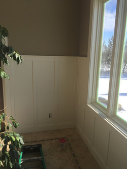 Wainscoting Feature