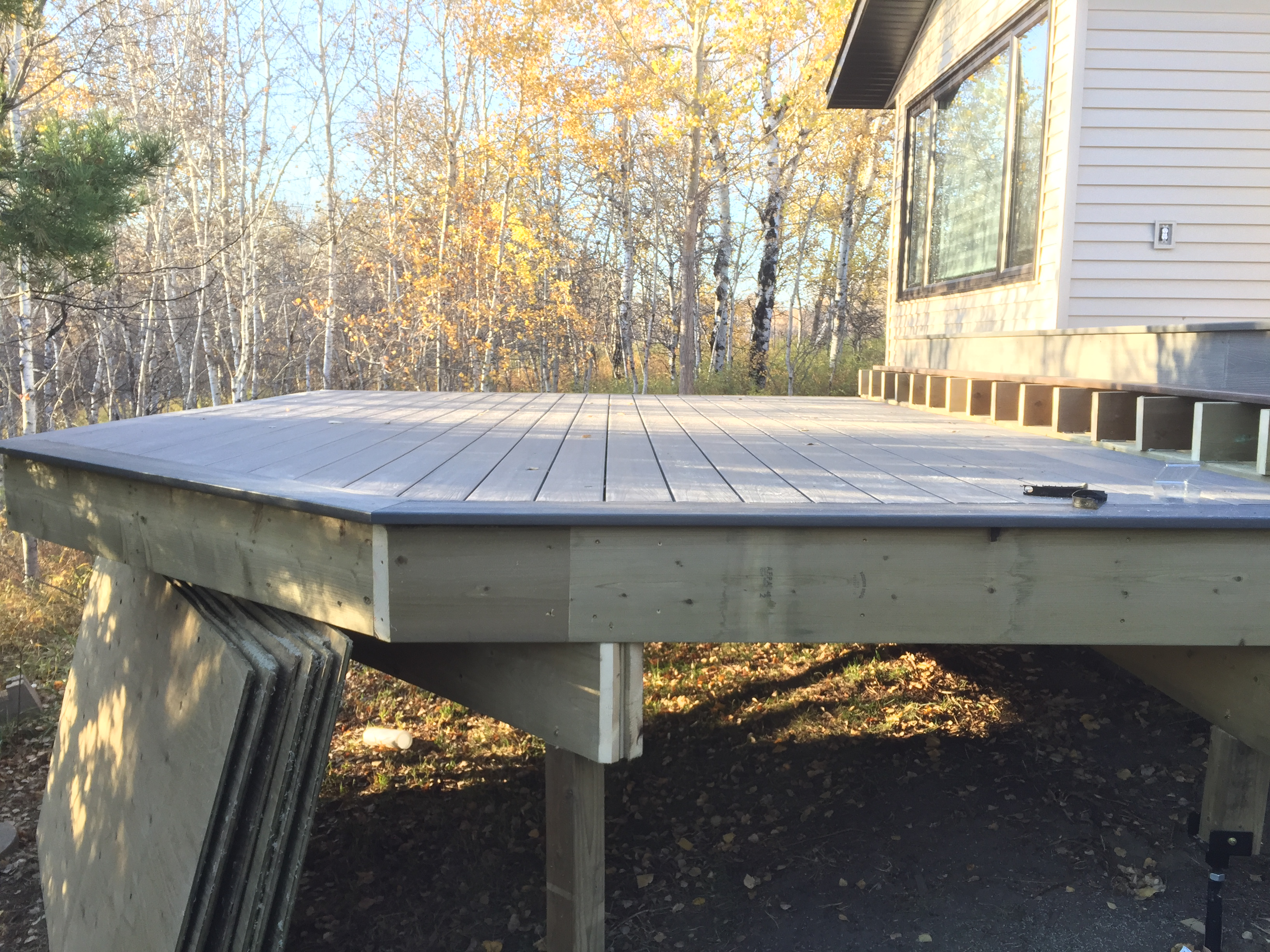 Tiered composite deck (in progress)