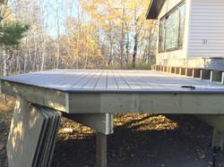 Tiered composite deck (in progress)