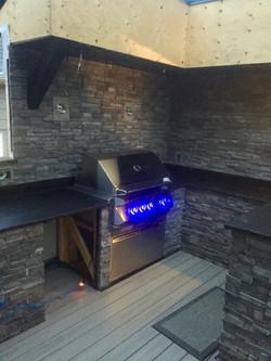 Outdoor BBQ area (in progress)