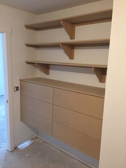 Closet (in progress)
