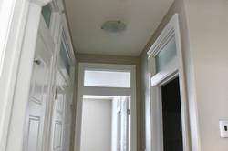 Door and transom installation/trim