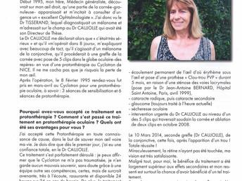 Rencontre avec Michèle CLERC et le Docteur CAUJOLLE
