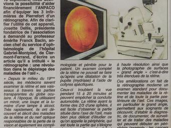 Le rétinographe: une révolution dans le dépistage des maladies de l'oeil