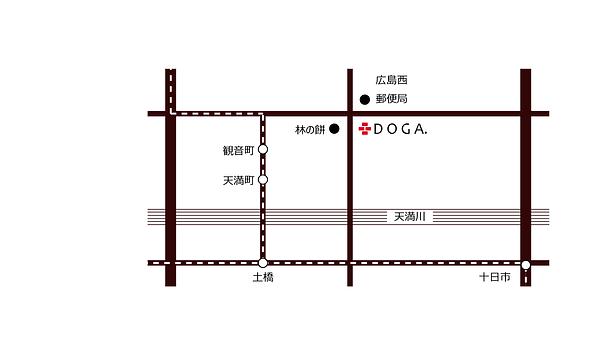 DOGA ドアー地図