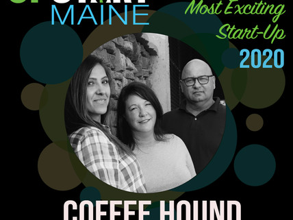 COFFEE HOUND NAMED BANGOR'S MOST EXCITING START-UP FOR 2020